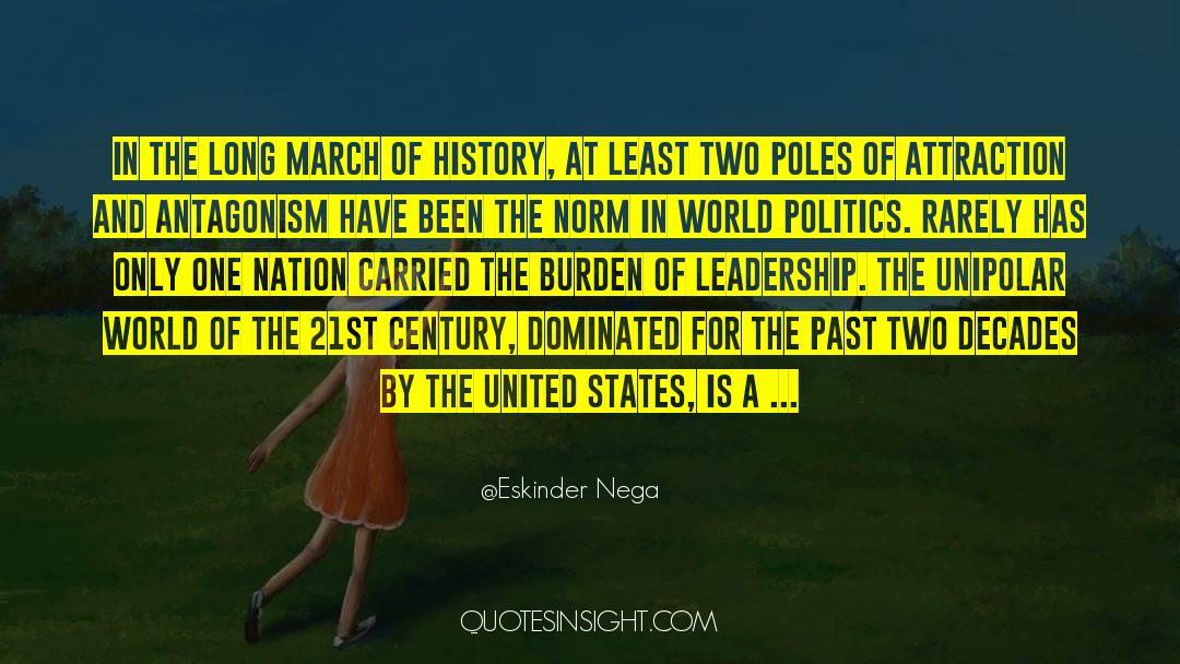 Historical quotes by Eskinder Nega