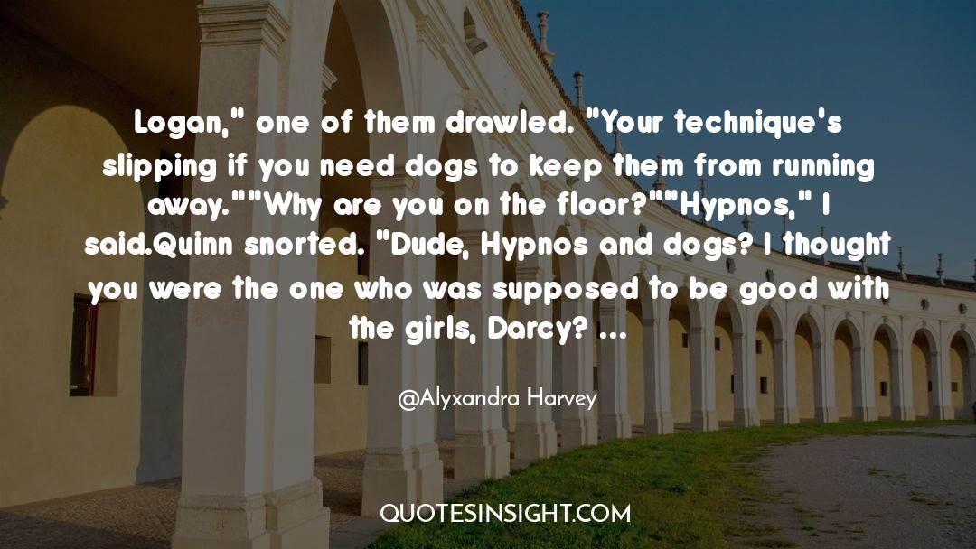 Hypnos quotes by Alyxandra Harvey