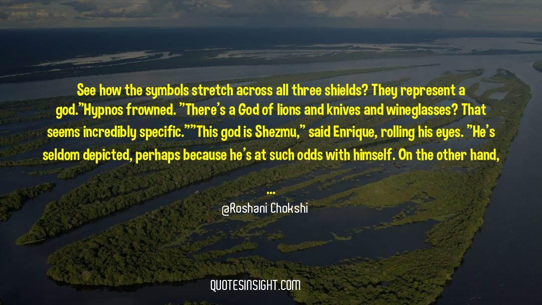 Hypnos quotes by Roshani Chokshi