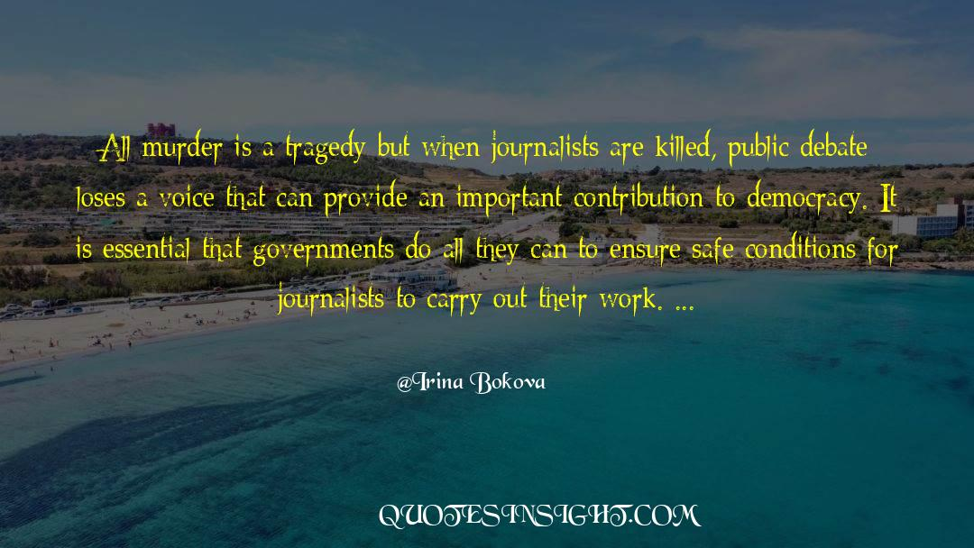 Important Contributions quotes by Irina Bokova