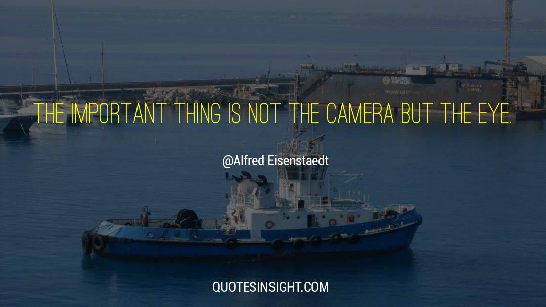Important Contributions quotes by Alfred Eisenstaedt
