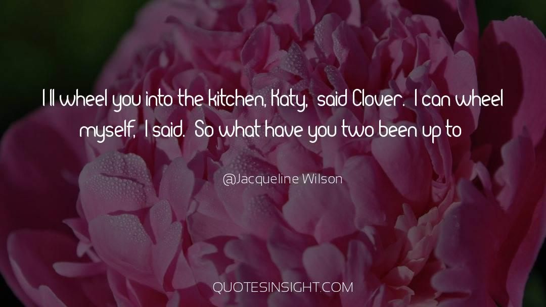 Jacqueline Patricks quotes by Jacqueline Wilson
