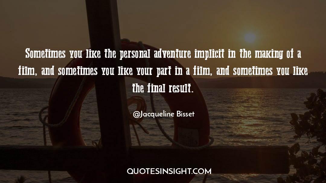 Jacqueline Patricks quotes by Jacqueline Bisset