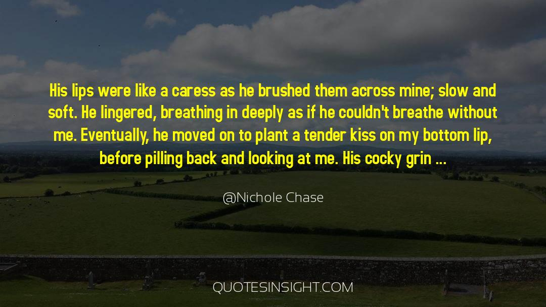 Like A Peacock quotes by Nichole Chase
