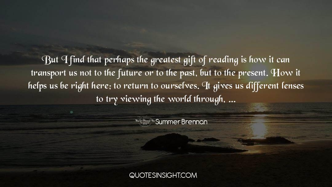 Making The Past Right quotes by Summer Brennan