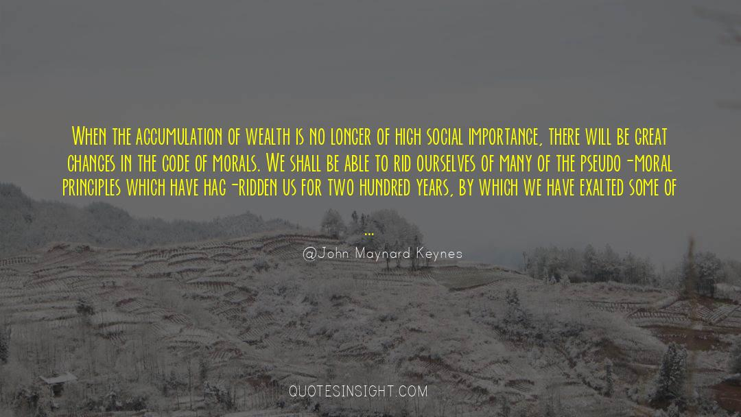 Morbidity quotes by John Maynard Keynes