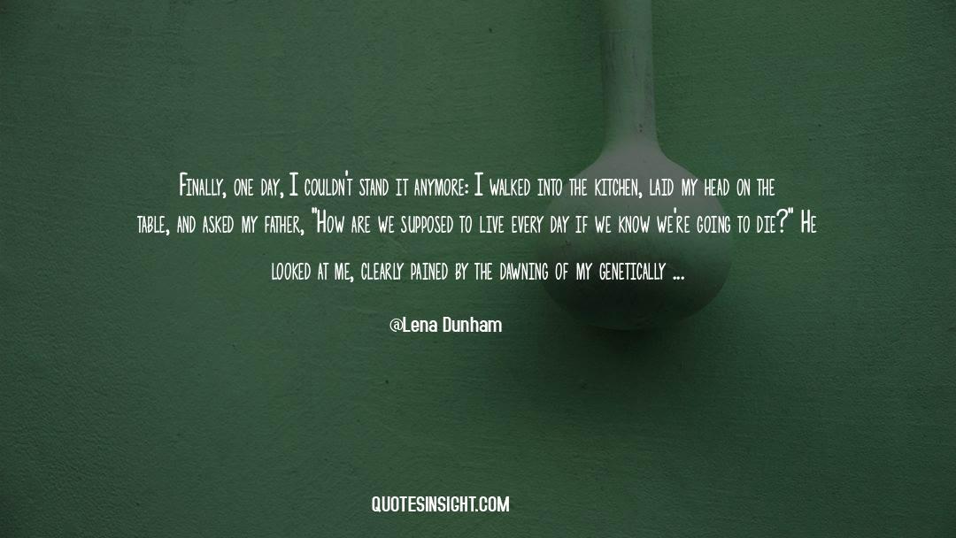 Morbidity quotes by Lena Dunham