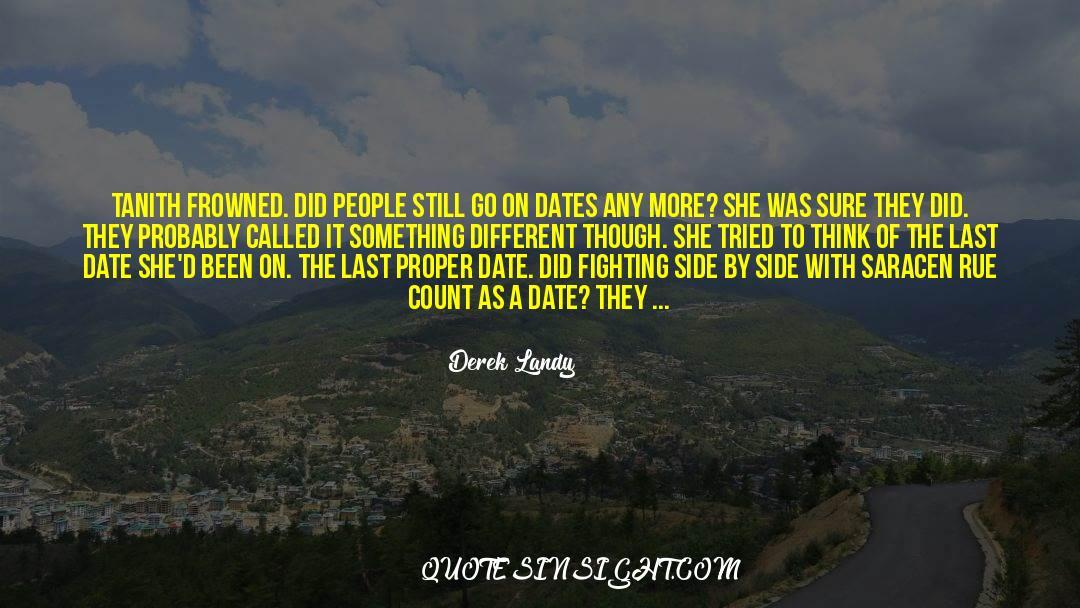 Morbidity quotes by Derek Landy
