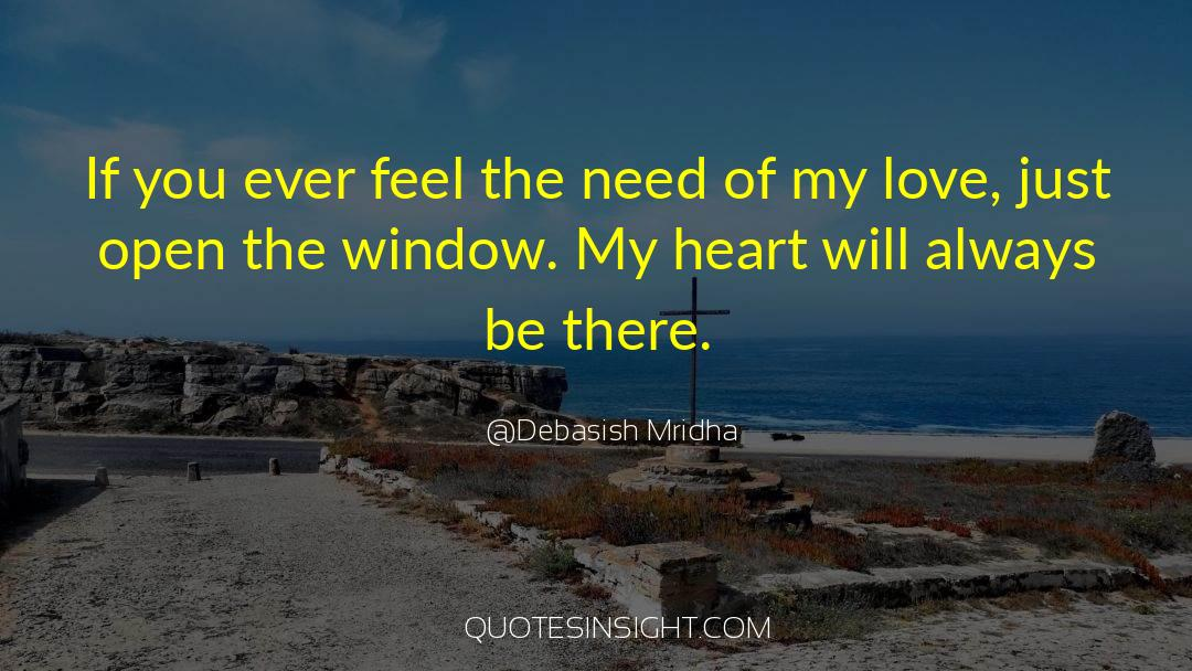 Need My Love Quotes