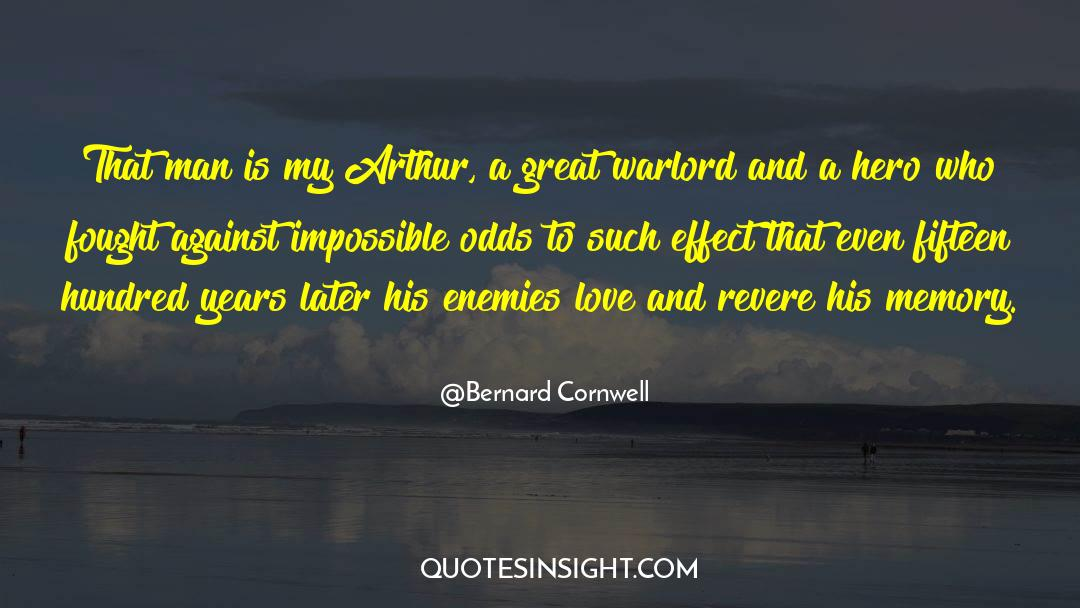 Nineteen Years Later quotes by Bernard Cornwell