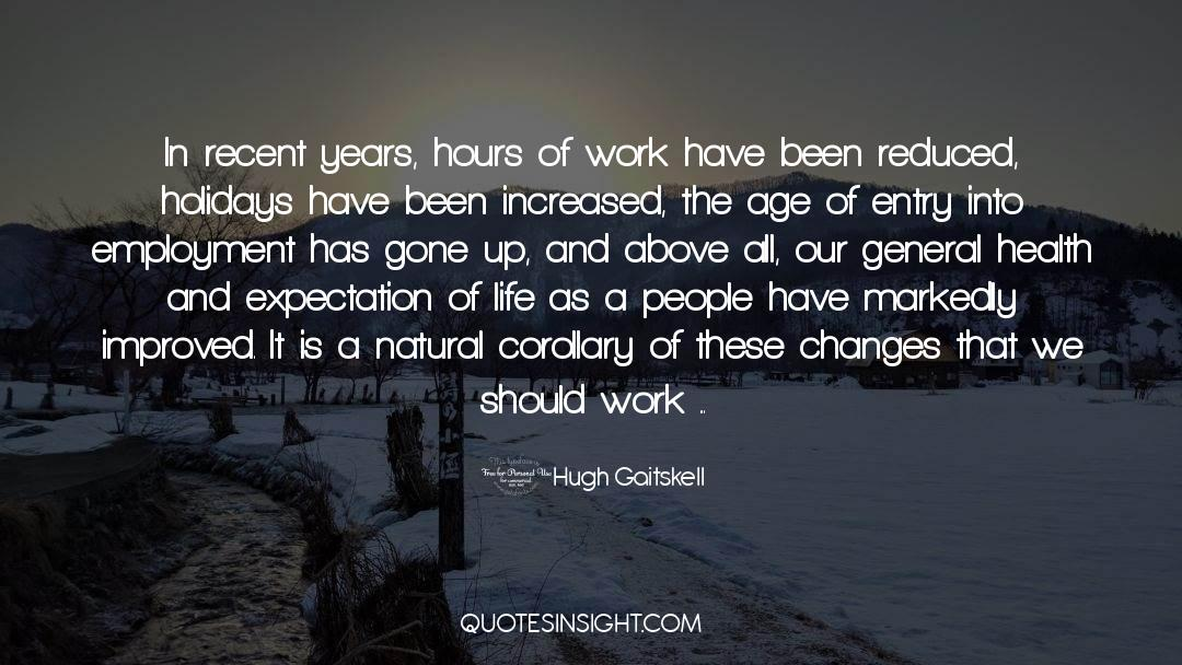 Nineteen Years Later quotes by Hugh Gaitskell