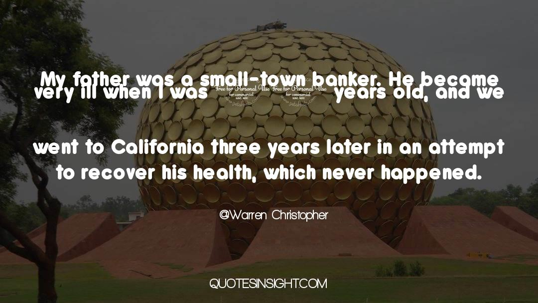 Nineteen Years Later quotes by Warren Christopher