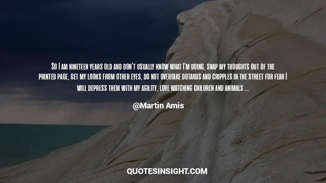 Nineteen Years Later quotes by Martin Amis