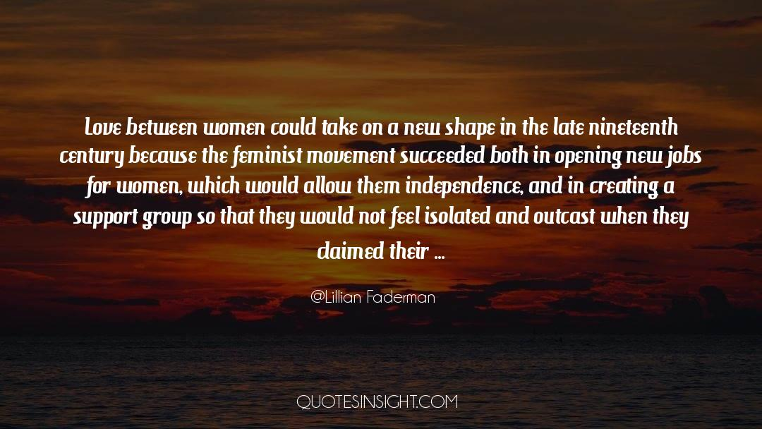 Nineteen Years Later quotes by Lillian Faderman
