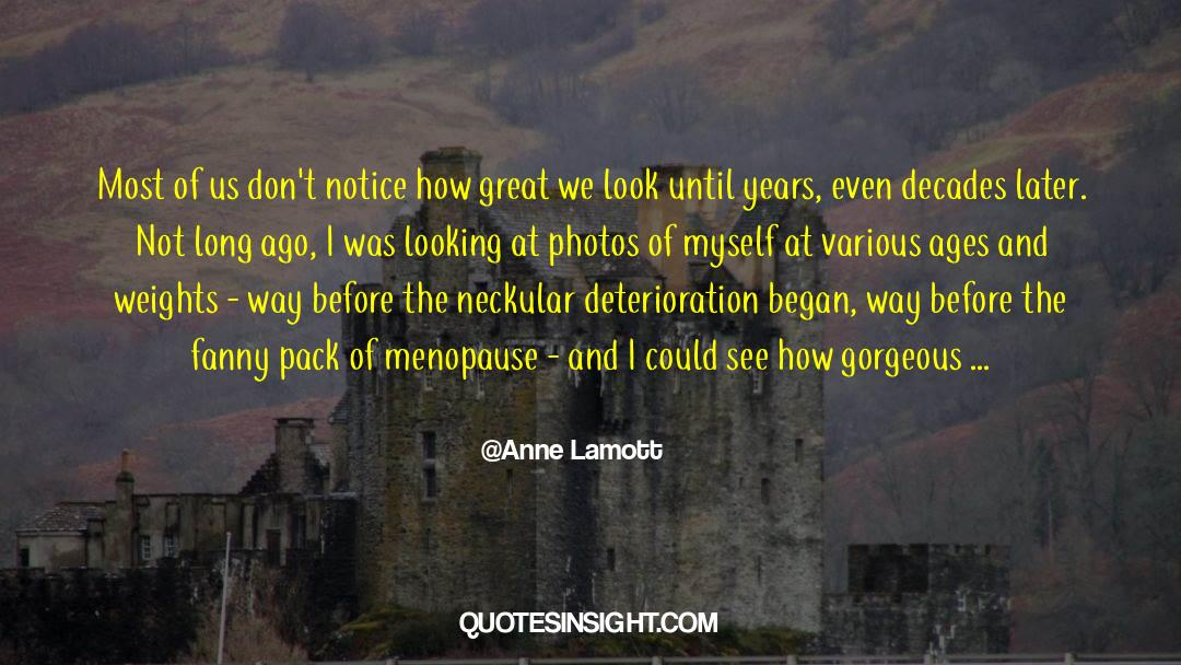 Nineteen Years Later quotes by Anne Lamott