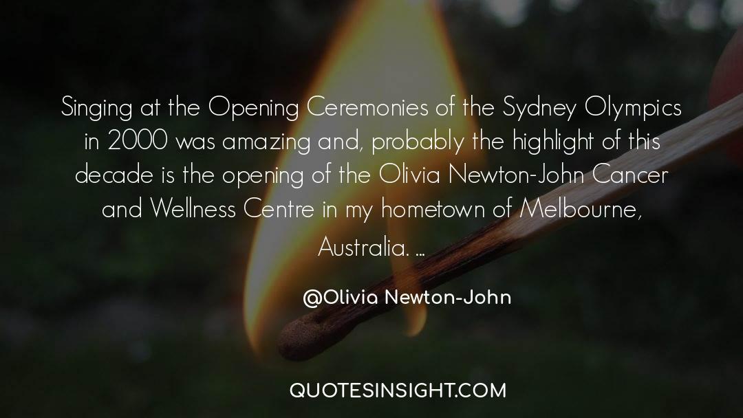 Olivia Kane quotes by Olivia Newton-John