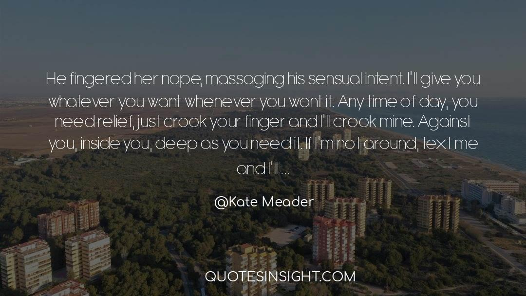 Olivia Kane quotes by Kate Meader