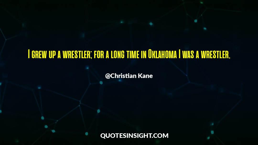 Olivia Kane quotes by Christian Kane