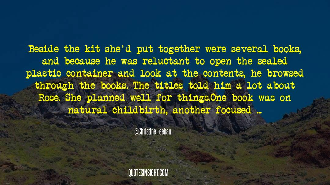 Olivia Kane quotes by Christine Feehan