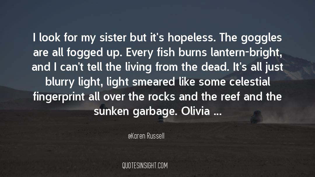 Olivia Kane quotes by Karen Russell