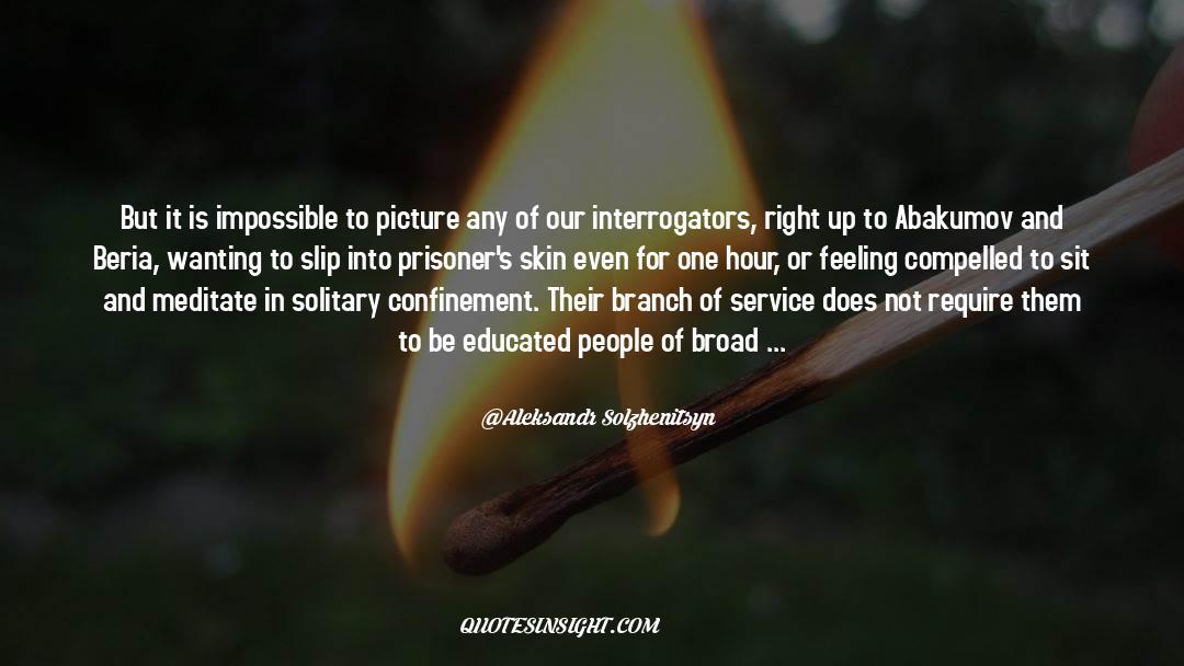 One Hour quotes by Aleksandr Solzhenitsyn