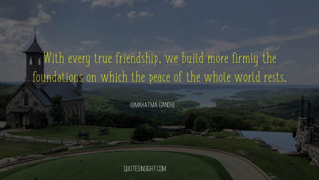 Positive Friendship quotes by Mahatma Gandhi