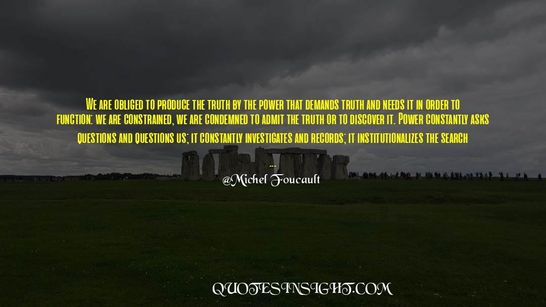 Power To Forgive quotes by Michel Foucault