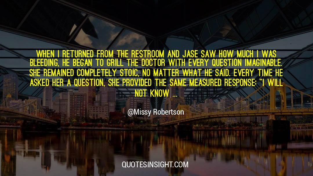 Power To Forgive quotes by Missy Robertson
