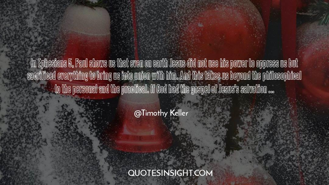 Power To Forgive quotes by Timothy Keller