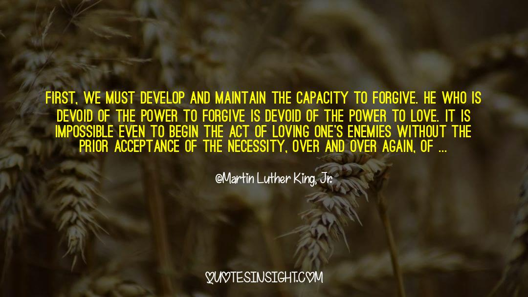 Power To Forgive quotes by Martin Luther King, Jr.