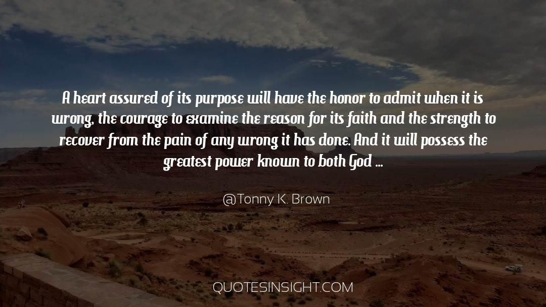 Power To Forgive quotes by Tonny K. Brown