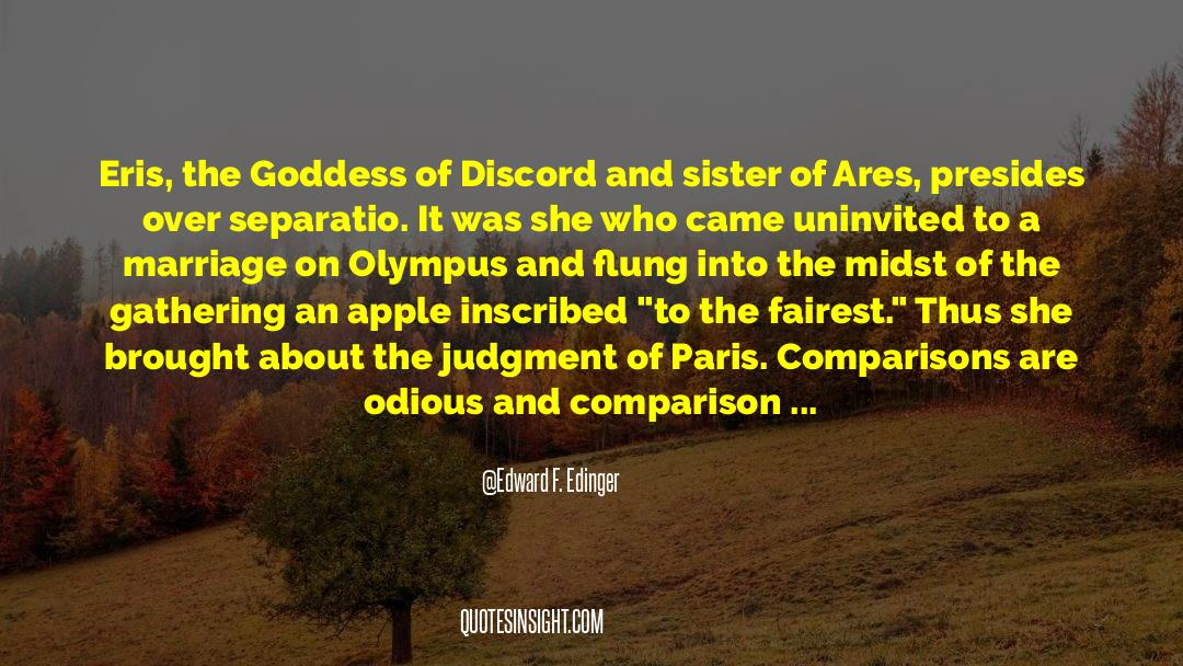 Principia Discordia quotes by Edward F. Edinger