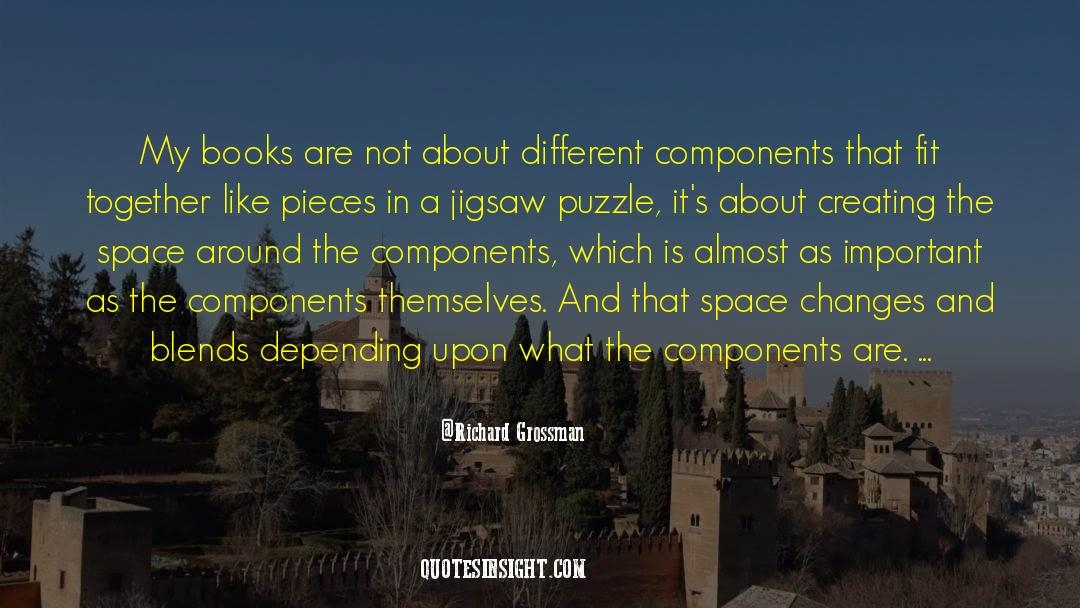 Puzzles quotes by Richard Grossman