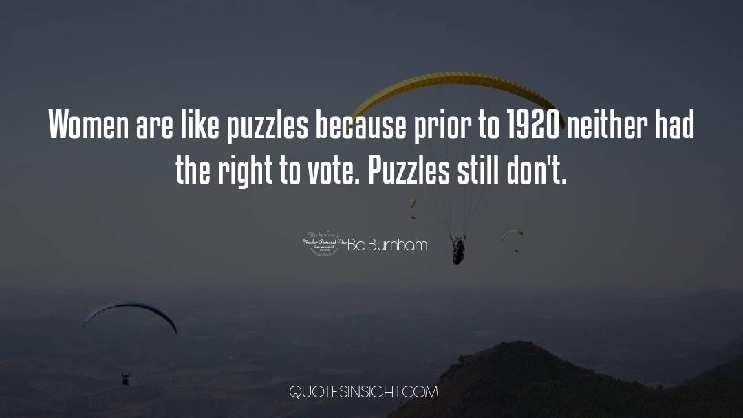 Puzzles quotes by Bo Burnham