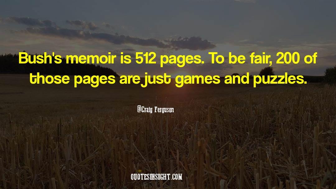 Puzzles quotes by Craig Ferguson