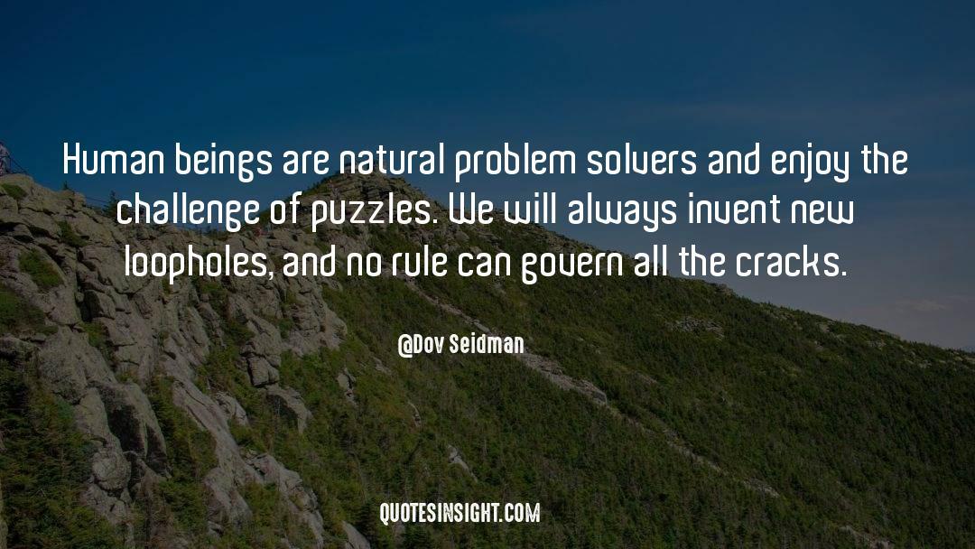 Puzzles quotes by Dov Seidman