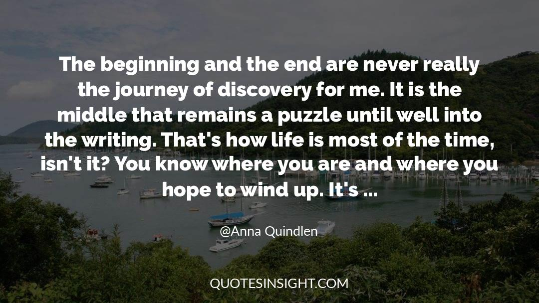 Puzzles quotes by Anna Quindlen