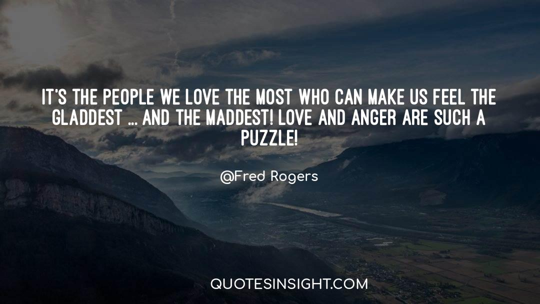 Puzzles quotes by Fred Rogers