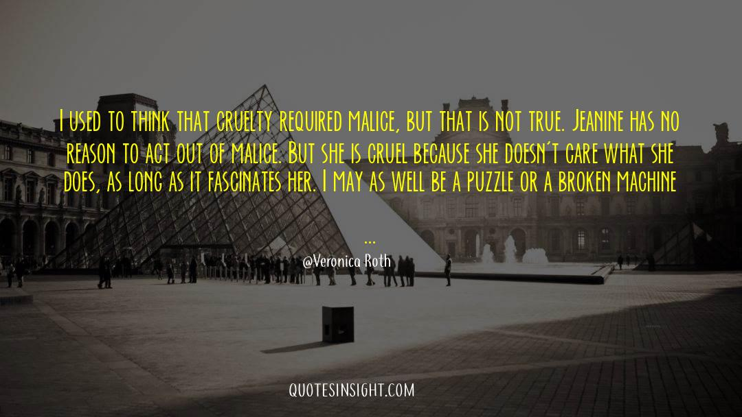 Puzzles quotes by Veronica Roth