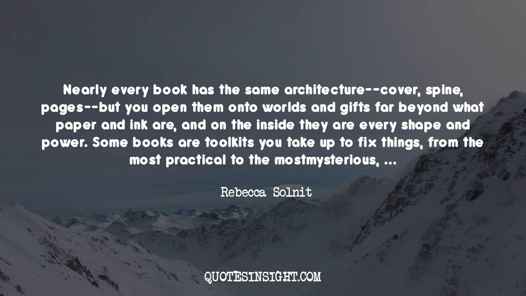 Puzzles quotes by Rebecca Solnit