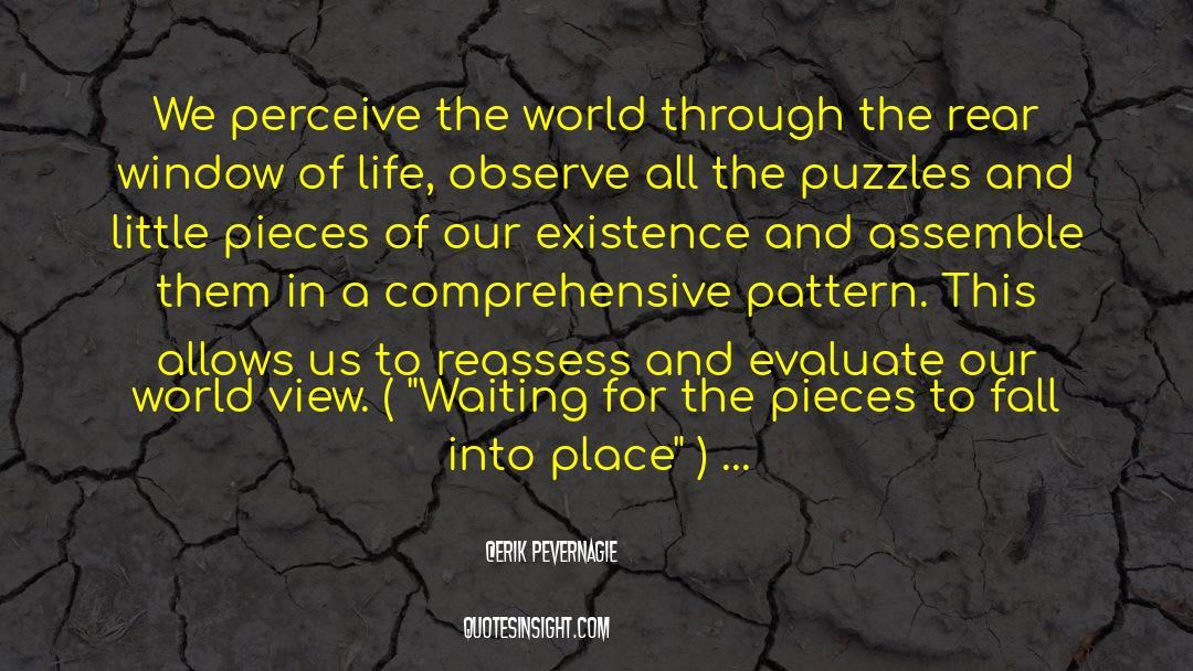 Puzzles quotes by Erik Pevernagie