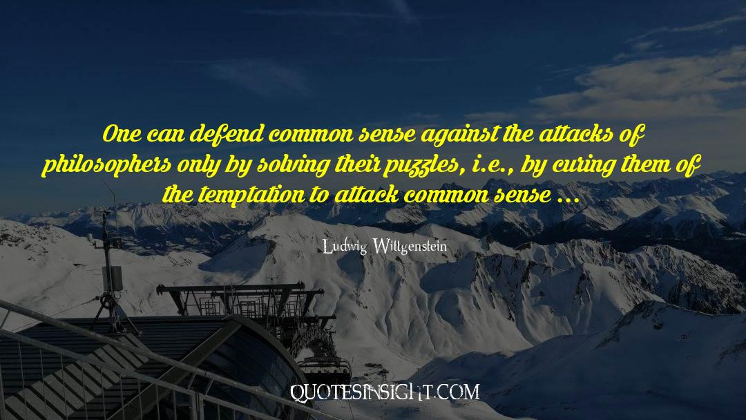 Puzzles quotes by Ludwig Wittgenstein