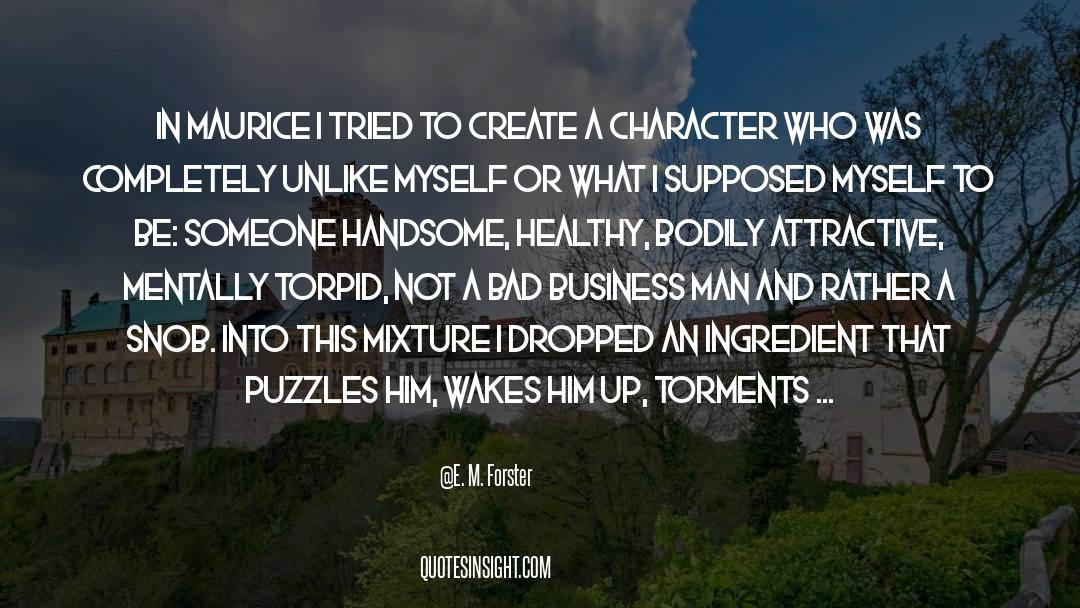 Puzzles quotes by E. M. Forster