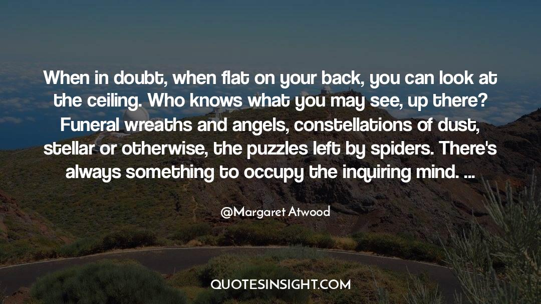 Puzzles quotes by Margaret Atwood