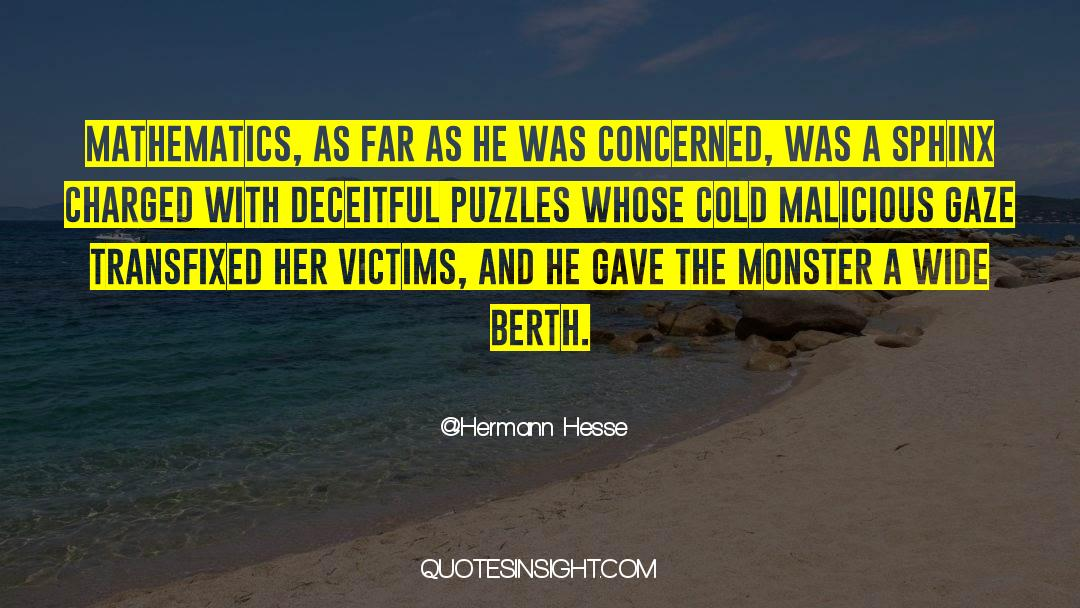 Puzzles quotes by Hermann Hesse