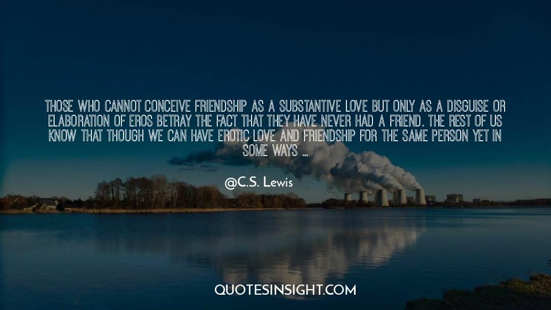 Real Friend quotes by C.S. Lewis