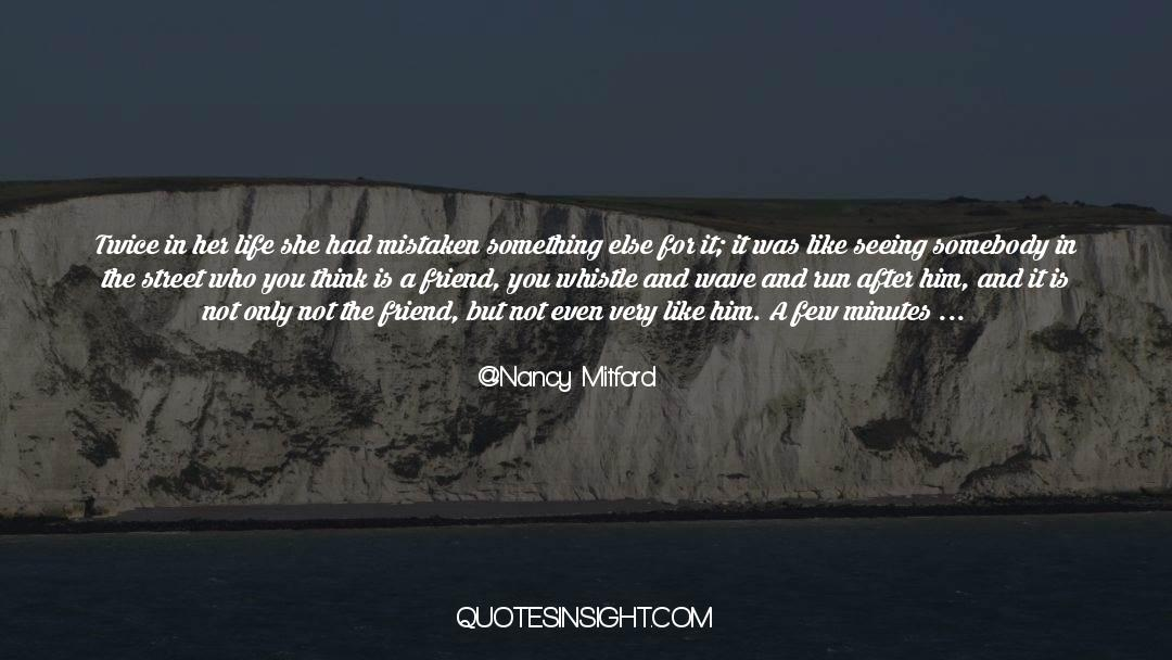 Real Friend quotes by Nancy Mitford
