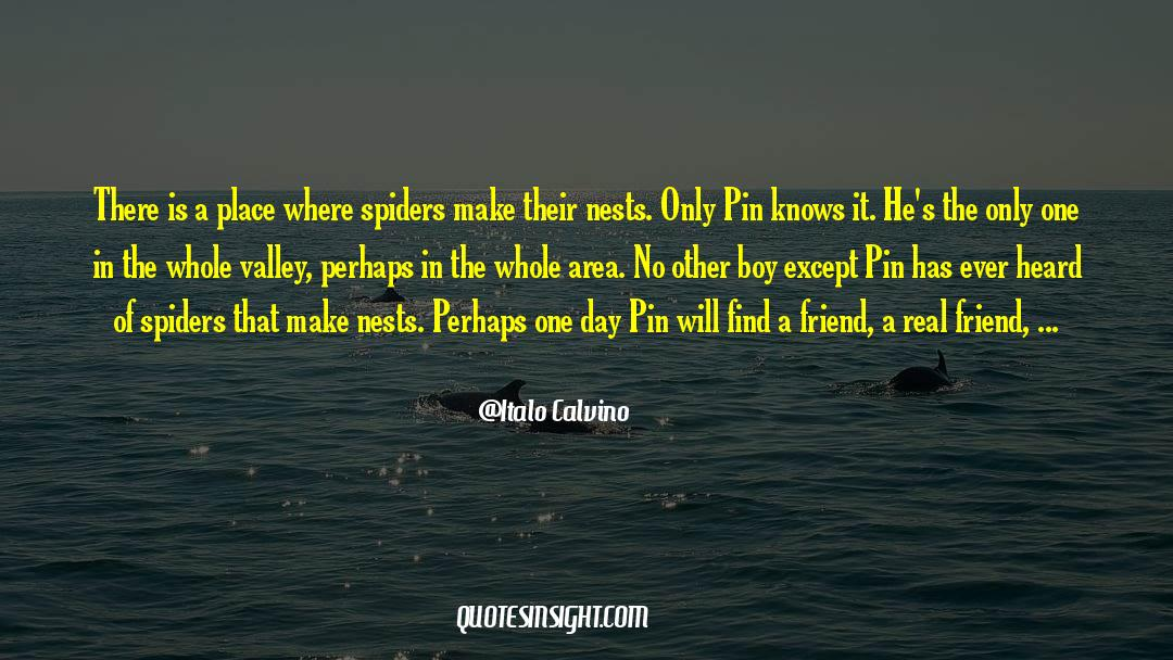 Real Friend quotes by Italo Calvino