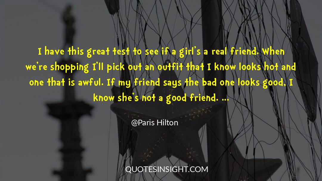 Real Friend quotes by Paris Hilton