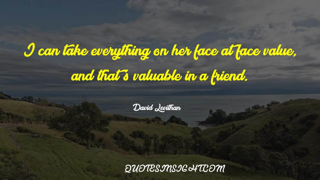 Real Friend quotes by David Levithan